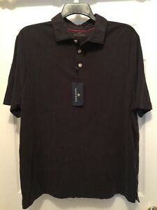 1f8ecad6a59 Mens Rainforest Polo-Type Shirt Black Size Large NEW 841314144680 | eBay