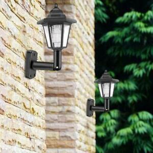 Waterproof-Outdoor-Solar-Powered-Lanterns-Lights-Hexagonal-Lamp-Mount-Wall-Z8D6