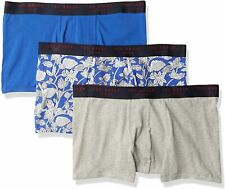 Ted Baker Mens Underwear Stretch Cotton Trunks 3 Pack