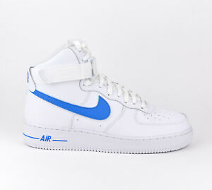 first rate premium selection the best Details about Nike Air Force 1 High 07 3 Men Lifestyle Fashion Shoes New  White Blue AT4141-102