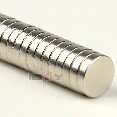 Lots 100PCs 8 * 2 mm Strong Round Disc Magnets Toy Rare Earth Neodymium 8 x 2 mm
