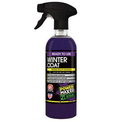 Power Maxed Winter Coat Paint Sealant Protection Car Care 500ml