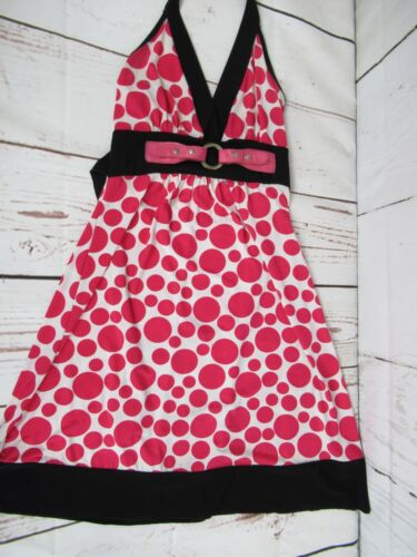 Women's Charlottel Russe Pink Polka Dot With Black
