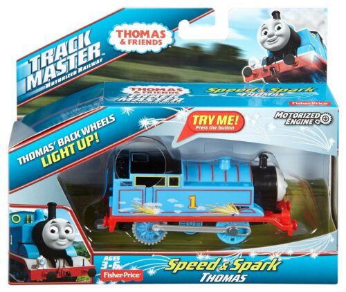 Thomas /& Friends SPEED AND SPARK THOMAS ENGINE TrackMaster Train Toy