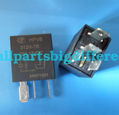 5pcs//10pcs HFV6-012H-TR New 4Pins Relay DC12V 12VDC