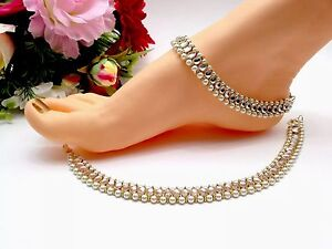 Fashion Jewelry Jewelry & Watches Sporting Indian Jewellery Asian Bridal Party Ethnic Wear Bollywood Anklets Payal Pazaib