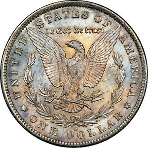 1885-O-USA-MORGAN-SILVER-DOLLAR-NGC-MS64-COLOR-BU-UNC-CHOICE-GEM-TONED-DR