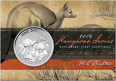 Royal Australian Mint 1994 1oz Frosted UNC Australia/'s Silver Kangaroo $1 Coin