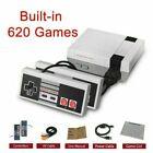 Zantec Classic Mini Console Gioco con 620 Videogiochi Incorporati e Doppio Controller - Grigie