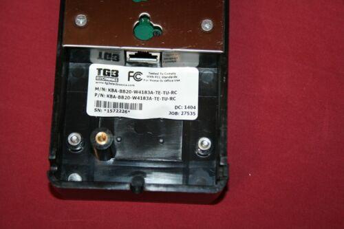 Lot of 5 WAND TG3 Electronics 20-Position Bump Bar KBA-BB20-W4183A-TE-TU-RC 1211