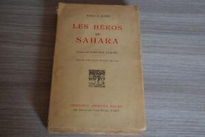 HOWE-Sonia-Les-heros-du-Sahara-A-Colin-Avec-carte-Ref-A8N