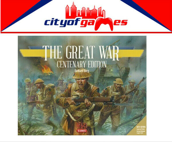 The Great War Centenary Edition Board spel Brand New
