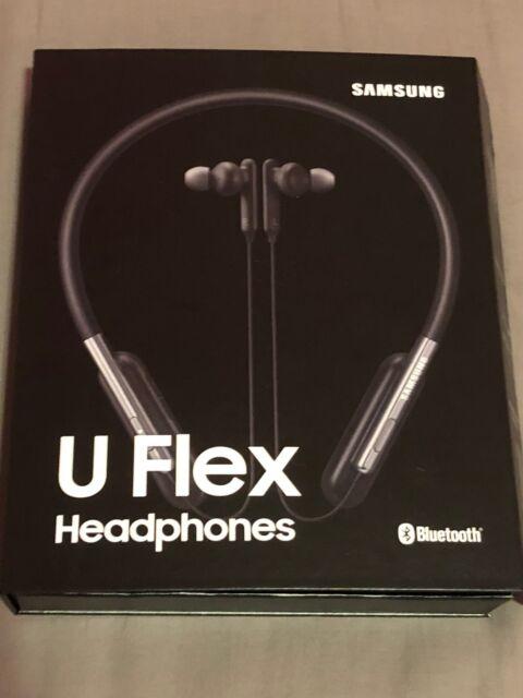 Samsung U Flex In Ear Wireless Headphones Black For Sale Online Ebay