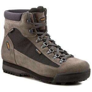 Aku Slope Gtx 885.4 scarpone trekking pelle cordura goretex vibram nero grigio