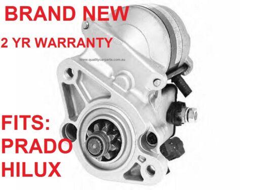 Starter Motor for TOYOTA LANDCRUISER PRADO /& HILUX VZJ95R 5VZFE 3.4L V6 96-03