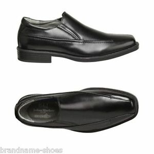 MENS-JULIUS-MARLOW-WICKED-MEN-S-BLACK-LEATHER-SLIP-ON-WORK-DRESS-FORMAL-SHOES