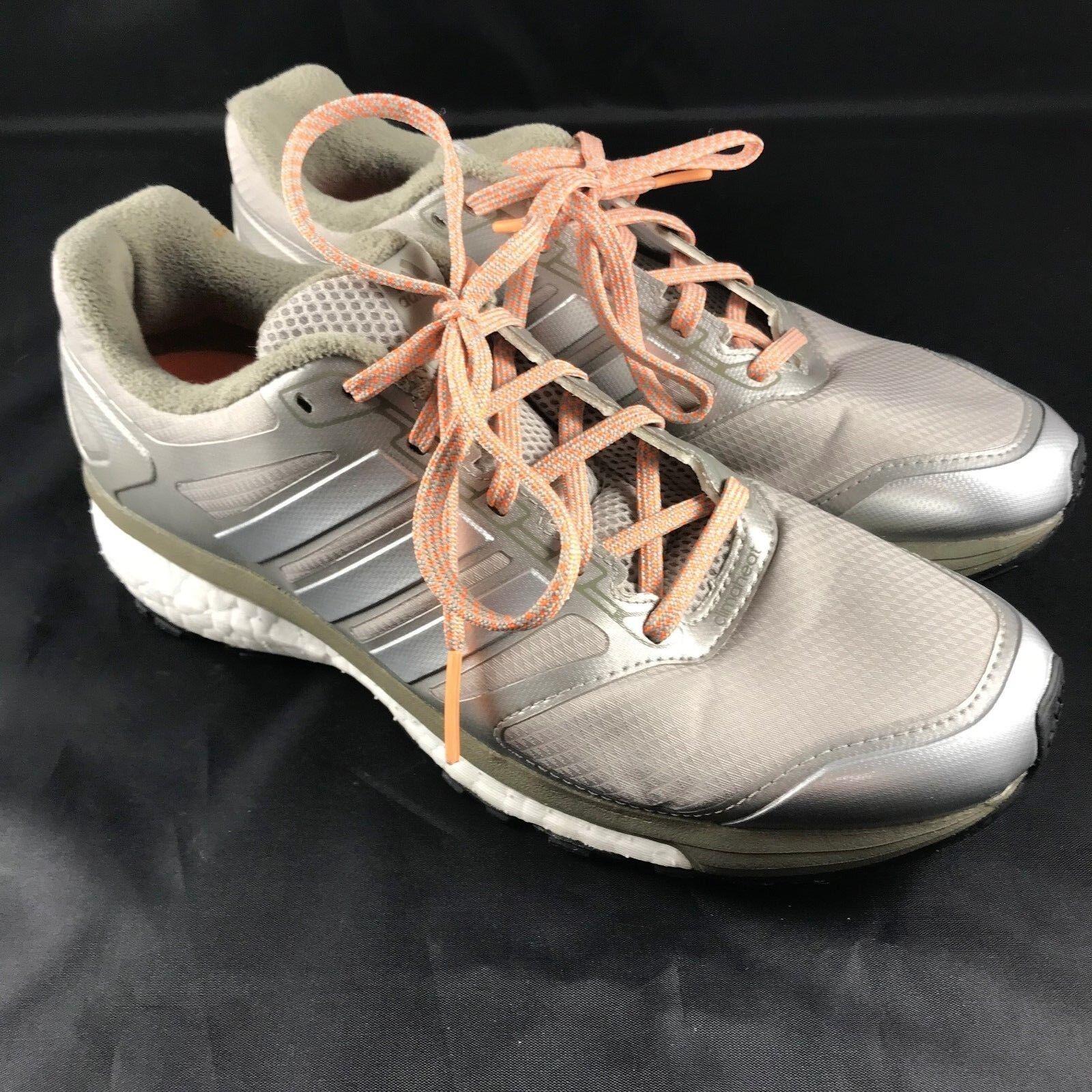 Adidas SUPERNOVA GLIDE BOOST 7 ATR Womens 7.5 39 1//3 Champagne Silver Gold