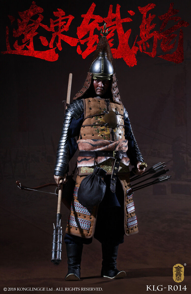 KLG-R014 1/6th Ming Dynasty Liaodong Mongol Cavalier Mongolian Soldiers Figure