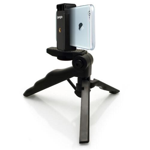 Pistol Grip Stabilizer Mini Table Top Stand Tripod + Universal Smartphone Holder