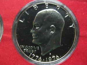 Complete 1975 S Proof Set Nice Type 1 Eisenhower Dollar