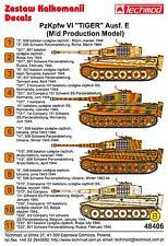 Techmod Decals 1/48 PzKpfw VI TIGER E MID PRODUCTION