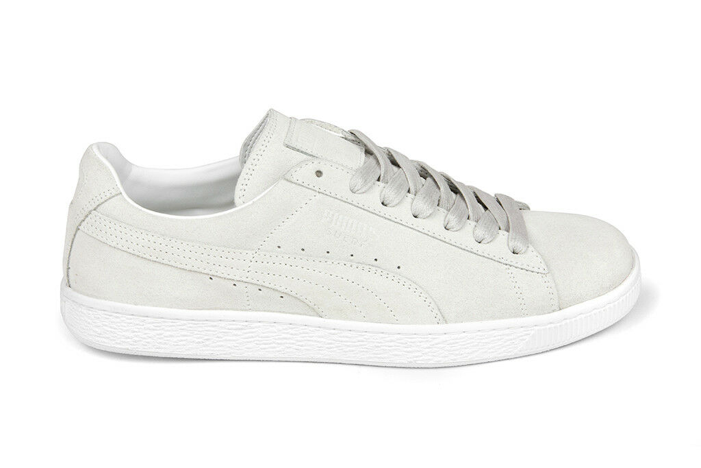 Puma Classic Suede 'Made In ' in White White 366287-01 BNIB Free Shipping