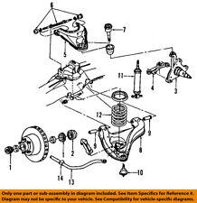 dodge chrysler oem 87-90 dakota front suspension-shock absorber g0073630  for sale online   ebay  ebay