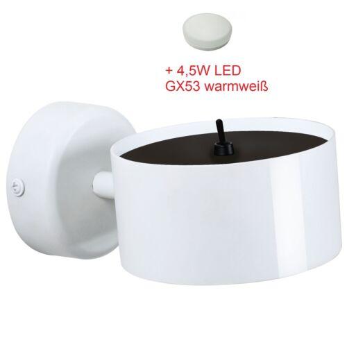 DEL Lampe murale Borago mur CHINE Bone porcelaine Nordlux gx53 OS Porcelaine