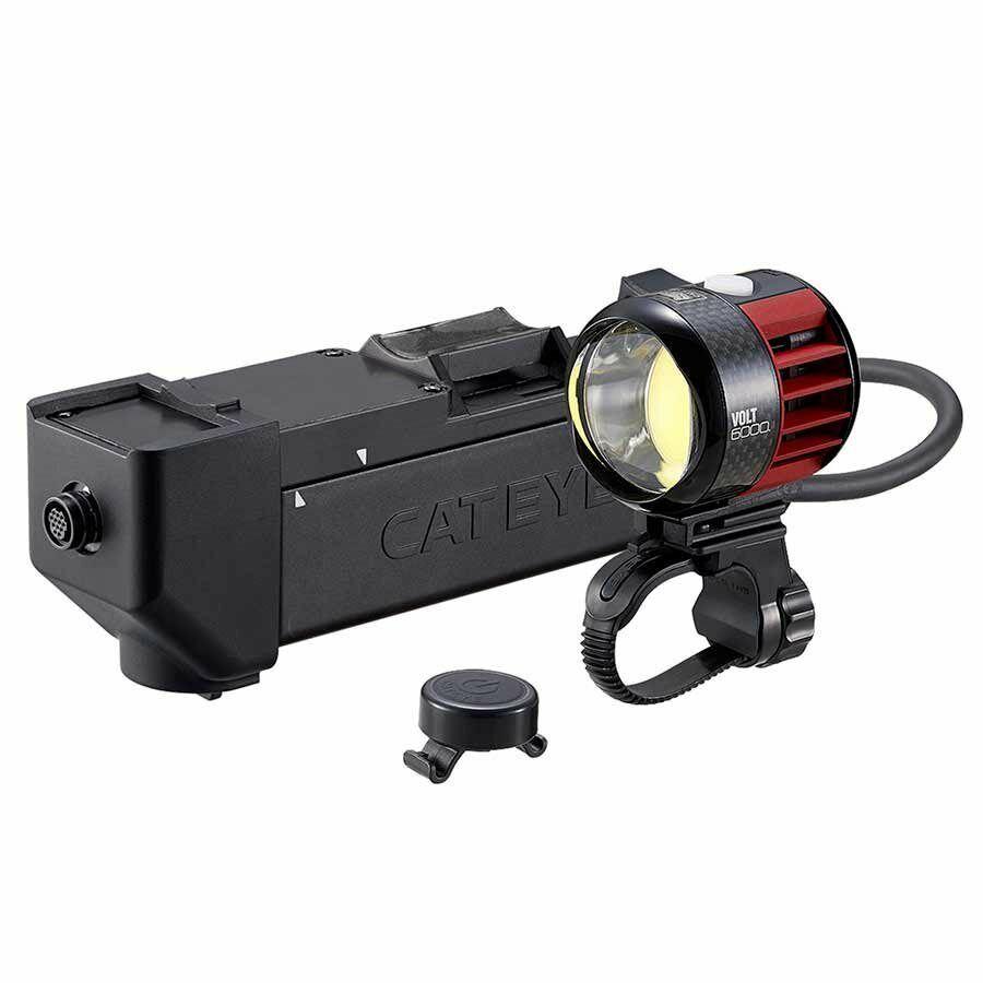 New  Cat Eye Volt 6000 HL-EL6000RC Rechargeable Headlight 6000 Lumens CatEye  team promotions