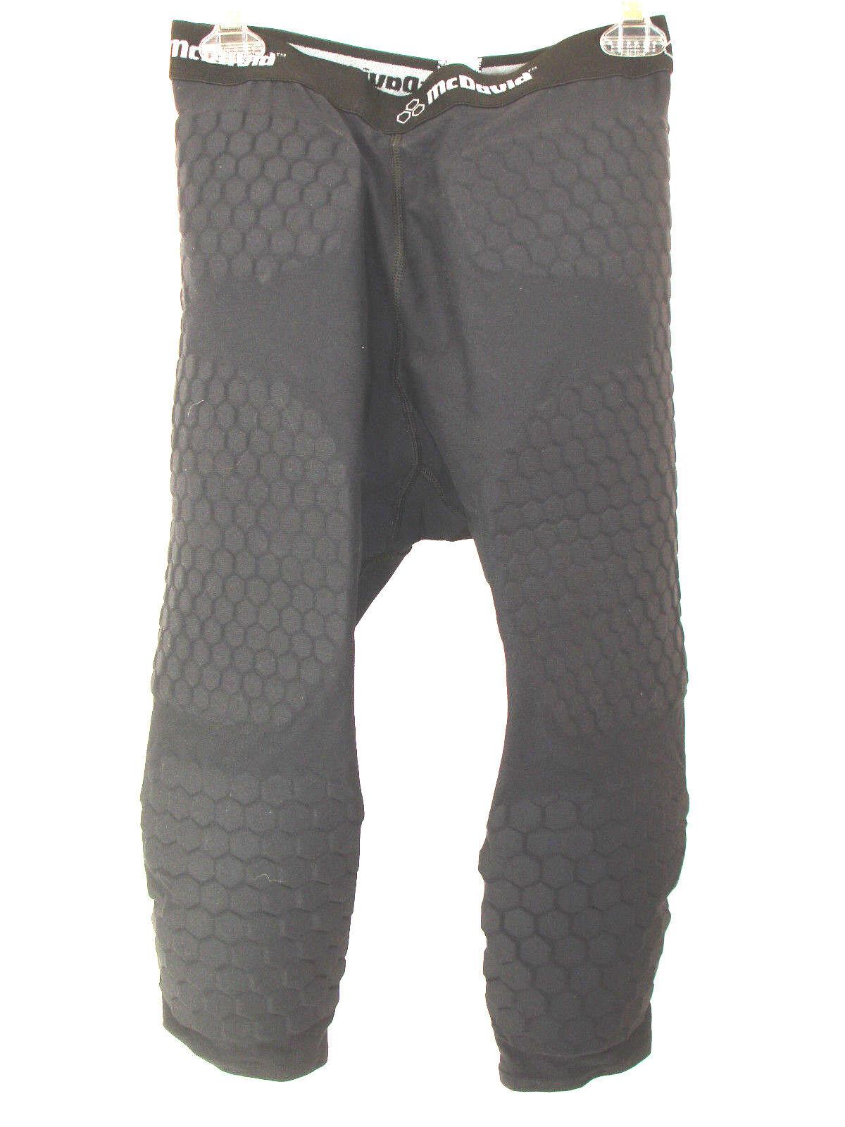 McDavid Womens Large Hex-Pad Calf Length Predective Padded Pants
