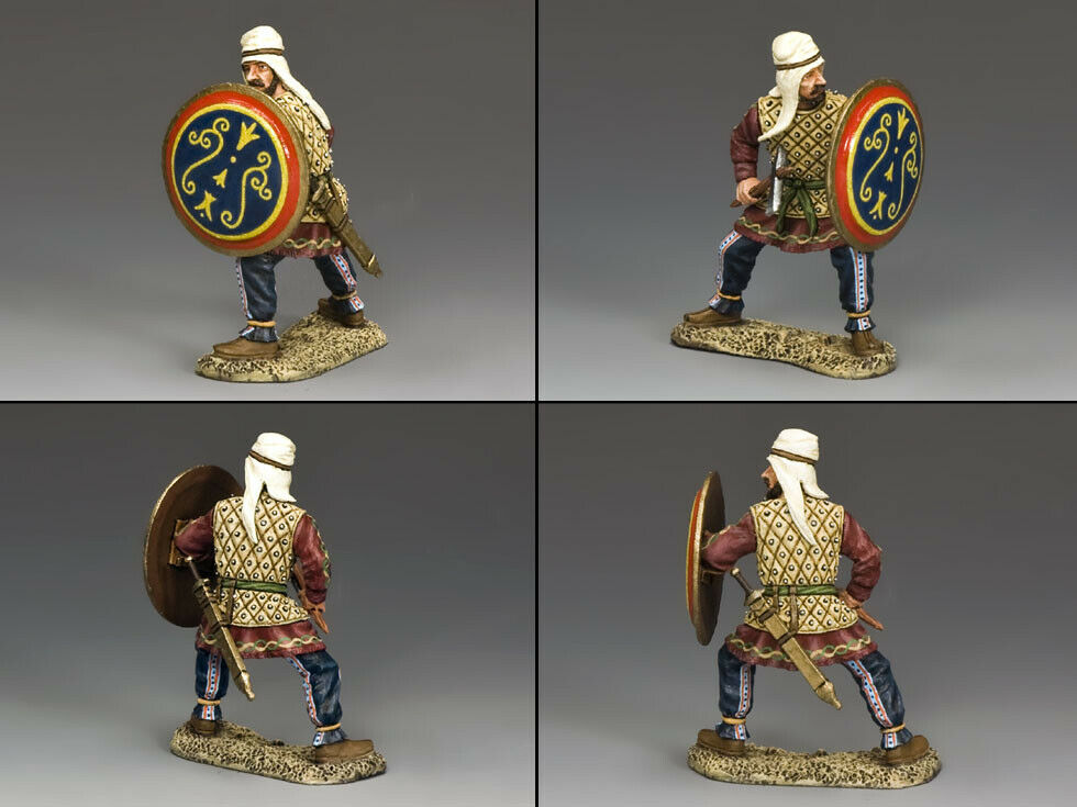 King & Country Antico Grecia & Persiano AG018 Persiano Guerriero con Ascia MIB