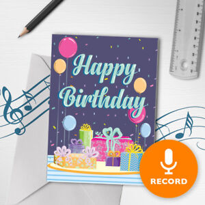 120s happy birthday card with music musical birthday present image is loading 120s happy birthday card with music musical birthday bookmarktalkfo