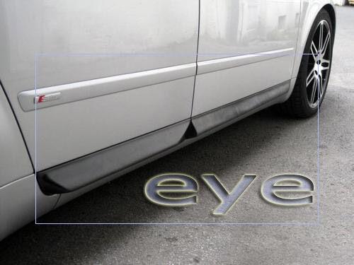 DOOR BLADES AUDI A4 B6 B7 S4 LOOK SIDE BLADES
