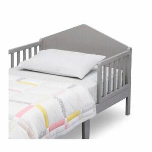 Delta Children Homestead Toddler Bed, Gray