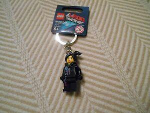 Lego The Lego Movie 850895 Wyldstyle Minifigure Keychain New Retired.