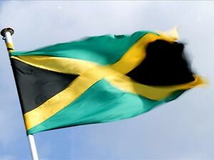JAMAICA-Flag-COUNTRY-JAMAICAN-POLYESTER-3x5feet-Banner-Festival-Home-Decoration