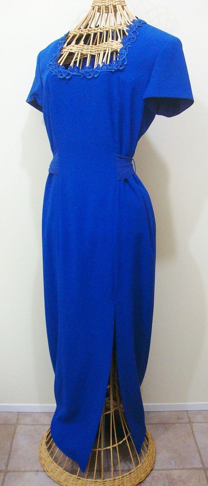 Liz Claiborne Royal bluee Long Formal Dress Womens 4