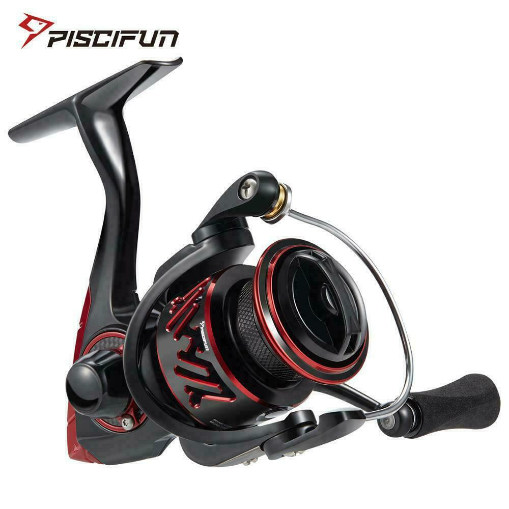Piscifun Honor XT Spinning Reel 5.2 1   6.2 1 Gear Ratio Up to 15kg Max Drag 10+