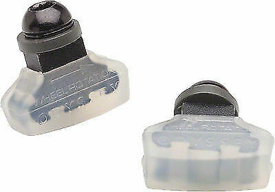 Odyssey Ghost Clear Soft Compound BMX Bicycle U-Brake Pads Threaded Post