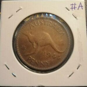 Australia 1 Penny 1944 (VF) #A