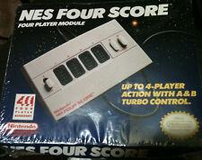 Brand NEW Nintendo NES Four Score Four Player Module Port -Sealed - ORIGINAL!