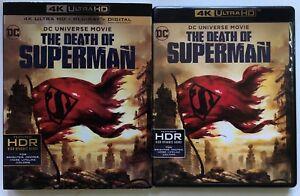 DC-COMICS-THE-DEATH-OF-SUPERMAN-4K-ULTRA-HD-BLU-RAY-2-DISC-SET-SLIPCOVER-SLEEVE