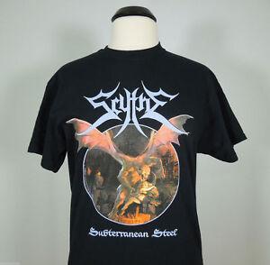 SCYTHE-Subterranean-Steel-Armed-w-Heavy-T-Shirt-XL-R-I-P-Records-NEW-Usurper