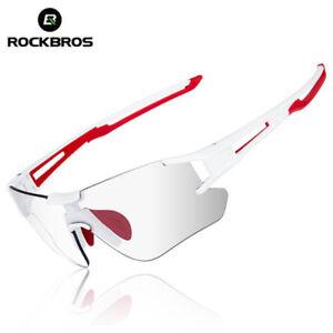 RockBros-Cycling-Driving-Photochromatic-Sunglasses-Glasses-UV400-Goggles-White