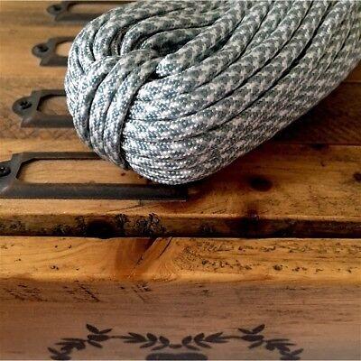 Corde cordage paracorde nylon 4mm bijoux maison bracelet collier noir gris DIY
