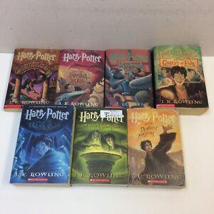 Details Sur Harry Potter Serie Complete Livre Set 1 7 Livre De Poche J K Rowling Free S H Afficher Le Titre D Origine