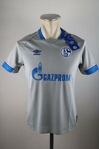 Schalke-04-Kinder-Trikot-Gr-Y-M-L-XL-146-158-S04-2018-2019-Away-Umbro-Shirt
