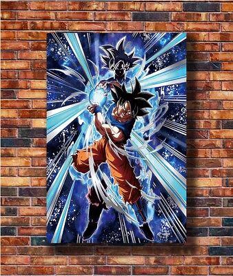 N-815 Dragon GT Super Goku New Japan Anime Fabric POSTER 20x30 24x36