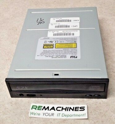 Tested Black Bezel Enthusiastic Nu Model Dcr-521 Cd-rom Ide Drive Free Shipping!!
