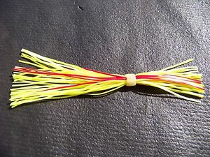 10-SILICONE-SKIRTS-LURE-MAKING-JIGS-SPINNER-CHATTER-BUZZ-BAIT-Silicon-Color-3